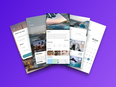 Hotel Finder hotel app hotel booking travel app concept ux ui ios