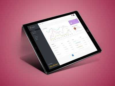 Dashboard for Campaign Manager ux admin dashboard ui