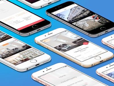 Rental App Concept renting rental ux ui ios app