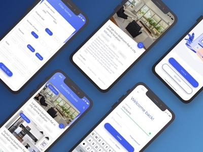 Apartment Finder App concept android mobile design ios