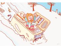 Winter Fridge