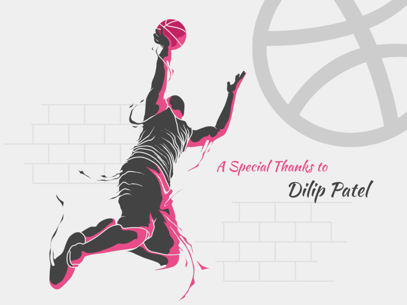 Hello Dribbble! vector welcome hello dribbble thanks giving adobe aftereffects adobe photoshop invite giveaway welcome shot dribbble invitation dribbble invite thanks for invite invite