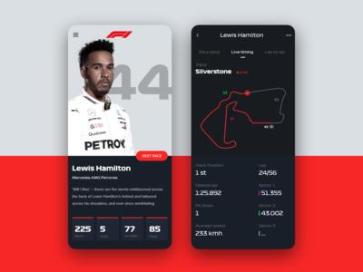 F1 mobile appliation