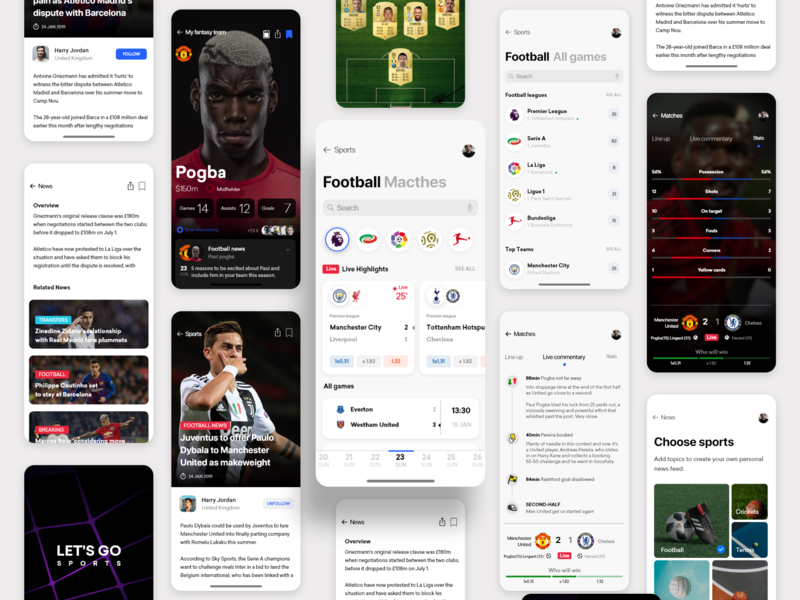 Match stats and live commentary freebie adobexd wireframe interface inspiration minimal ux appdesign uidesign design uxdesignmastery dribbblers iosinspiration userexperience userinterface interaction uitrends ui photos free ui