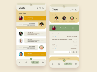 Hola Chat App. UI/UX Project
