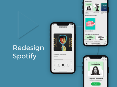 Redesign Spotify with Neumorphism ui8net blue music app spotify typography mobile adobe illustrator ux uiux uidesign ui mobileapp design