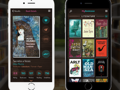My Bookcase - App for app readers