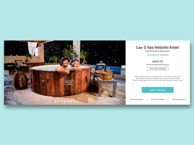 Lay Z Spa Product Page