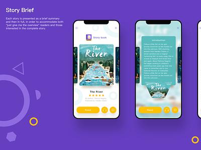 OwlBooks APP- Book Introduction app design