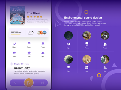 OwlBooks APP-Environmental sound design