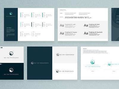 Ins for Renascence logo design branding