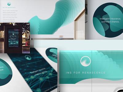 Ins for Renascence logo design branding branding logo design