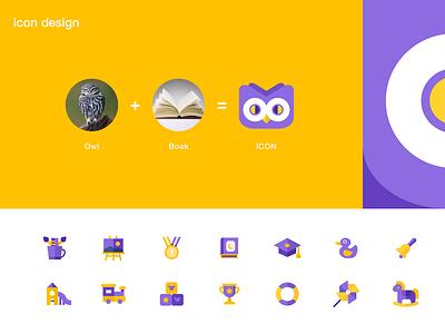OwlBooks APP ICON design icon app design