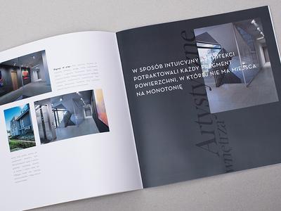 Kamienice Malczewskiego architecture art brochure