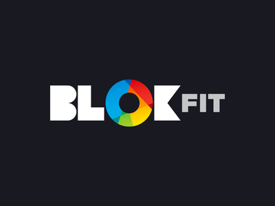 BlokFit colorful circle geometric sport boulder