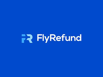 Fly Refund monogram plane flight