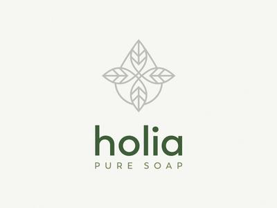 Holia leaf cosmetics natural soap
