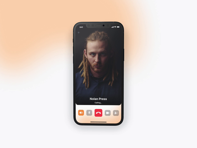📞 Calling... product design animation video call mobile ui mobile app call ui design ux design design app design user experience user interface ux ui