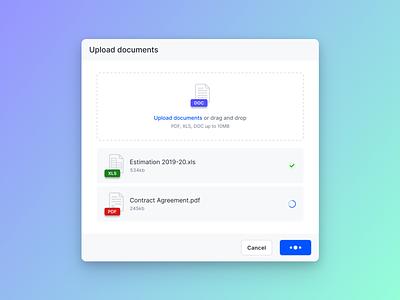 ⬆️ Upload documents popup uploader upload file upload ui design ux design user experience user interface dashboard product design design ux ui
