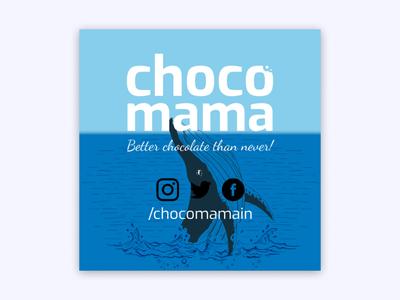 Chocomama Whale
