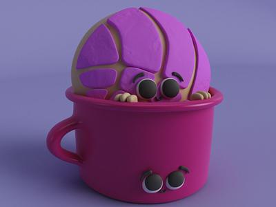 TAZITA cute character design vrayforc4d vray 3d art render illustration drawing characterdesign cinema4d