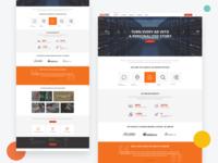 Ad Server Landing Page Design
