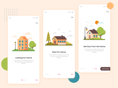 Property App Onboarding Screen