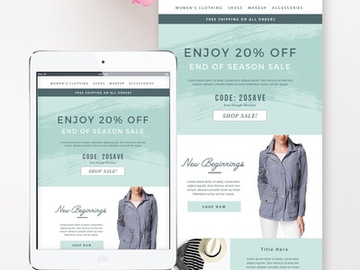 Sales Fashion Email Template