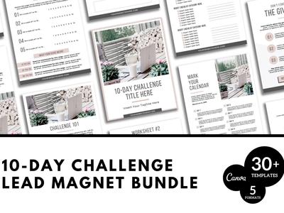 10 Day Challenge Canva Bundle