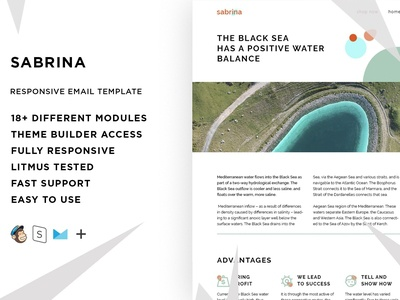 Sabrina – Responsive Email template