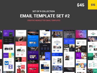 Maga - 9 Email Template set #2