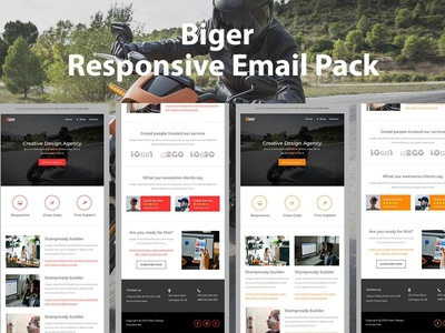 Biger - Responsive email pack