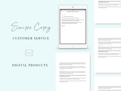 Email Swipe-Copy | Digital Products