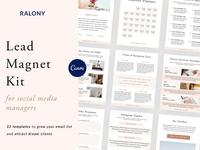 Lead Magnet for Social Media Manager