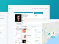 (FREE) Medical Directory - Web App / UI Kit (.sketch file)