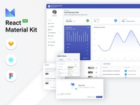 Devias Kit Pro - Client & Admin Dashboard analytics dashboard analytics profile settings clean dashboard dashboard sketchapp figma ux dashboard admin react theme ui ui kit ux material ui material material design