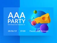 Party Invitation Card Design