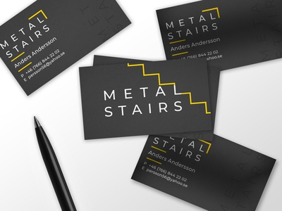 Business card for METAL STAIRS