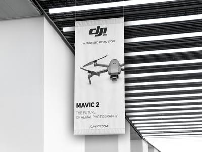 Banner DJI Mavic 2 Pro for DJI Store Kyiv