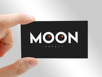 Business Card for MOON AGENCY