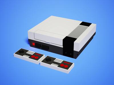 3D Voxel NES