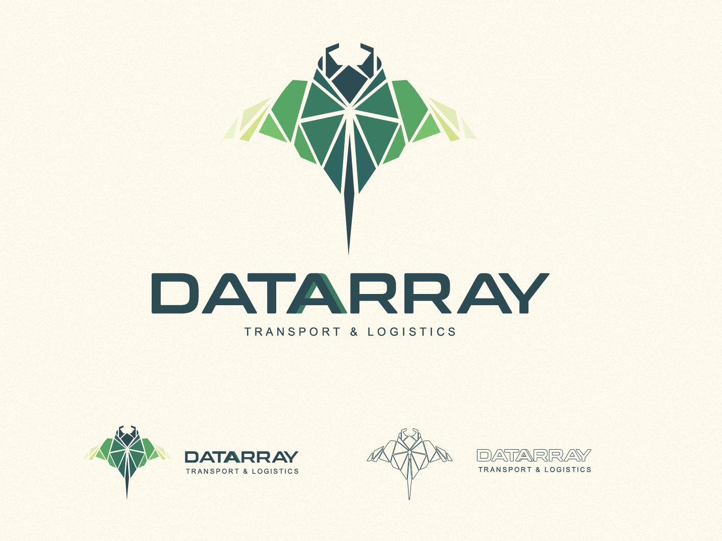Datarray  logo tech logo geometric geometry logo design minimalist design minimalist design icons icon type minimal website flat web ux typography branding ui vector logo
