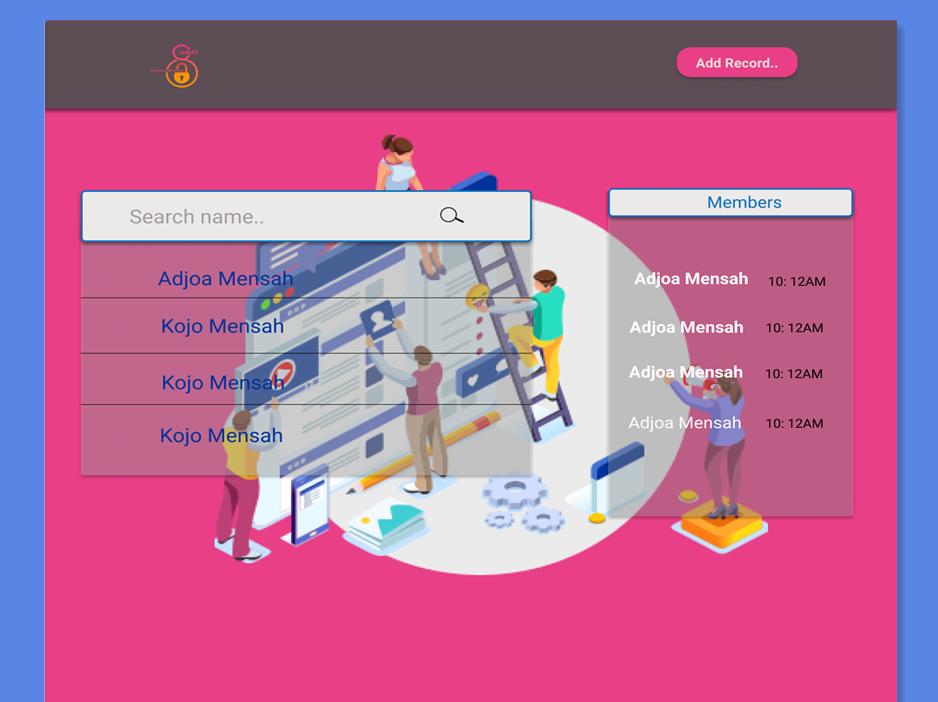 Database landing page design figmaafrica landingpage figmadesign