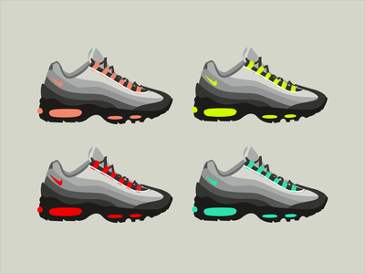 Nike Air Max 95 Illustration
