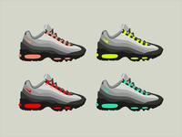 Nike Air Max 95 Illustration