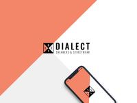 dialect logo dribbble