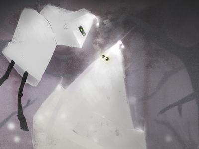 Life of Ghosts - Illustration
