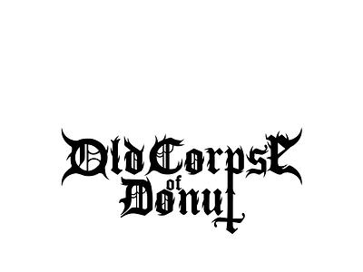 Black metal style illustrator ilustrator blackmetal metal typography font type designinpiration design