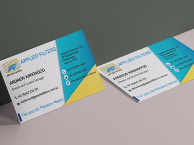 Air Filtration Business Card