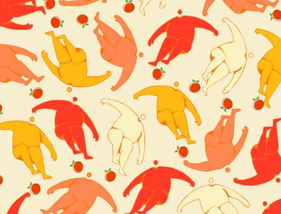Nude Foodie Branding Pattern
